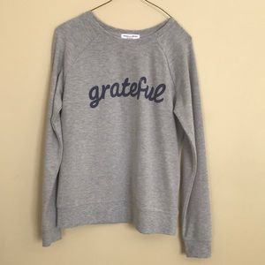 "NWOT's • Grayson Threads • ""Gratefull"" Top • S"